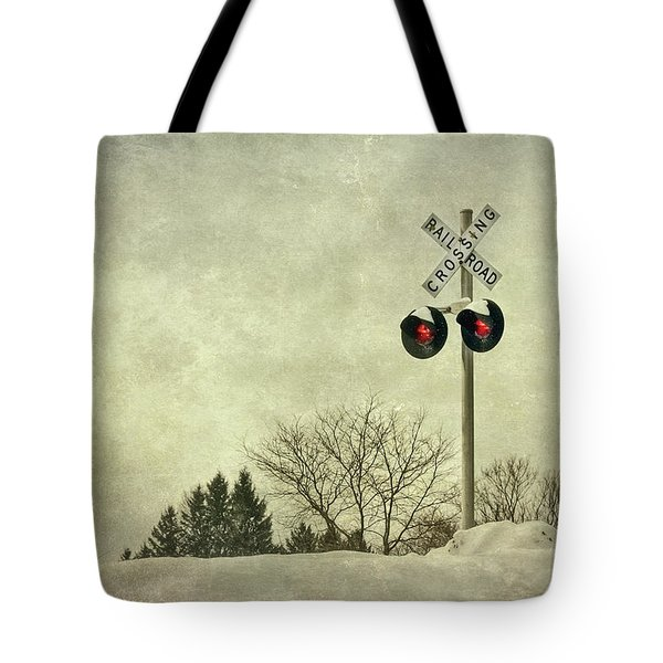 Crossing Over Tote Bag by Evelina Kremsdorf