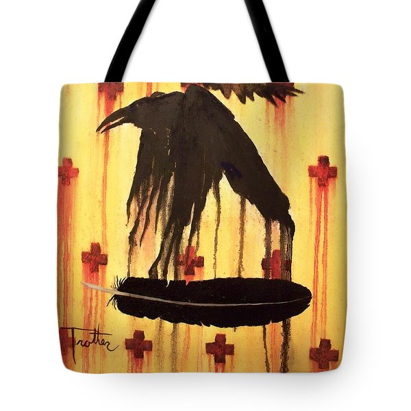 Crossing Paths Tote Bag by Patrick Trotter