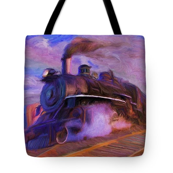 Crossing Rails Tote Bag