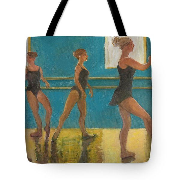 Crossing The Floor Tote Bag