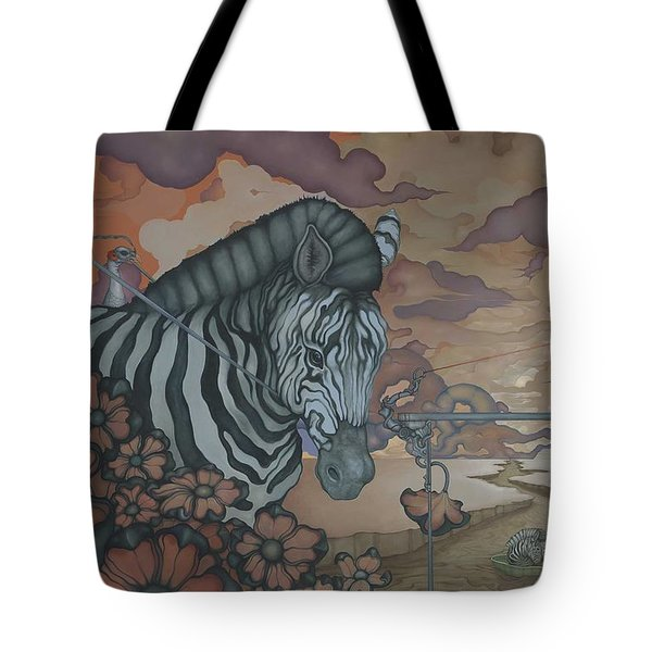 Crossing The Mara Tote Bag
