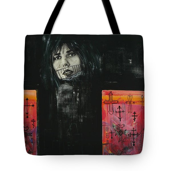 Crossroad Tote Bag by Yelena Tylkina