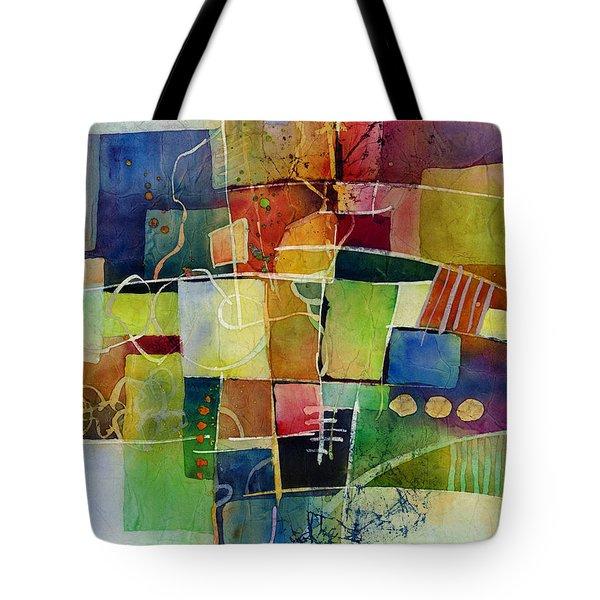 Crossroads 2 Tote Bag by Hailey E Herrera