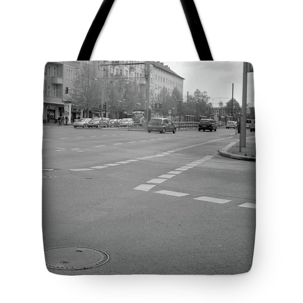 Crossroads In Prenzlauer Berg Tote Bag