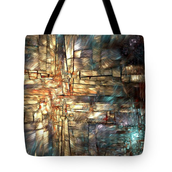 Crossroads Tote Bag by Kim Redd