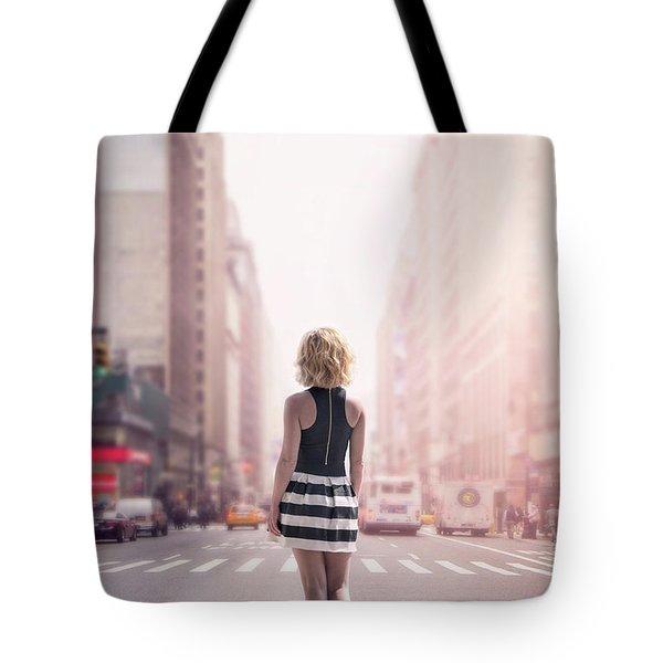 Crosstown Swing Tote Bag