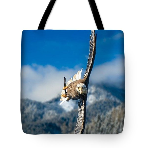 Crosswind Eagle Tote Bag