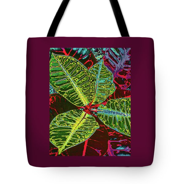 Croton - Deep Green Tote Bag