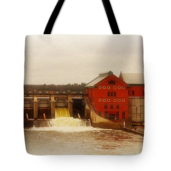 Croton Hydroelectric Plant Tote Bag