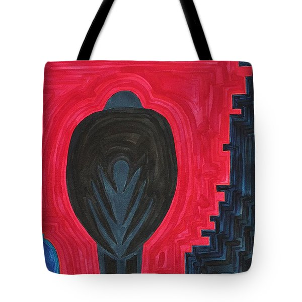 Crow Original Painting Tote Bag by Sol Luckman