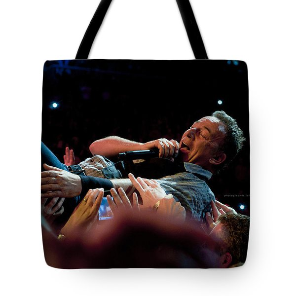 Crowd Surfing Tote Bag