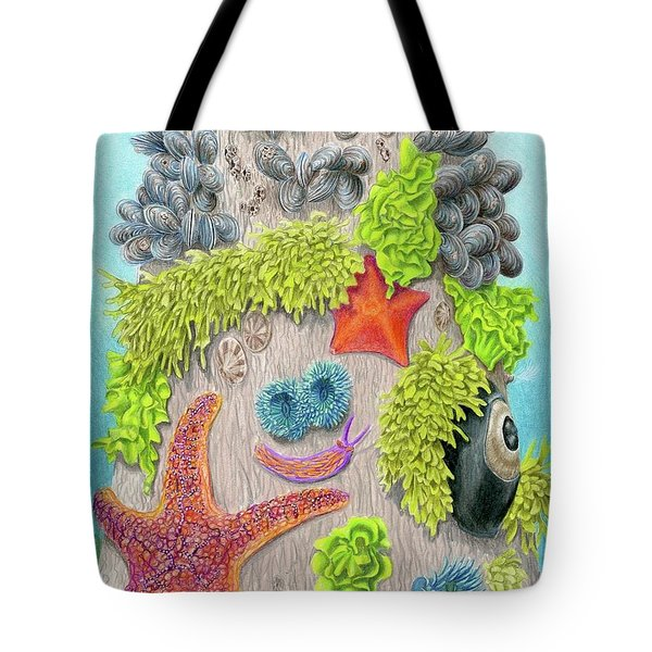 Crowded By Marina Zellers Grade 11 Tote Bag