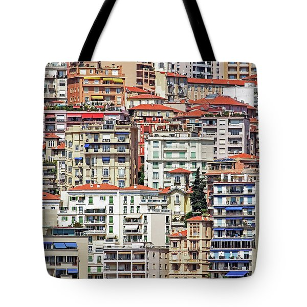 Crowded House Tote Bag by Keith Armstrong