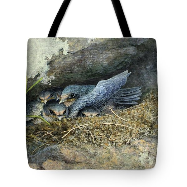 Crowded House Tote Bag