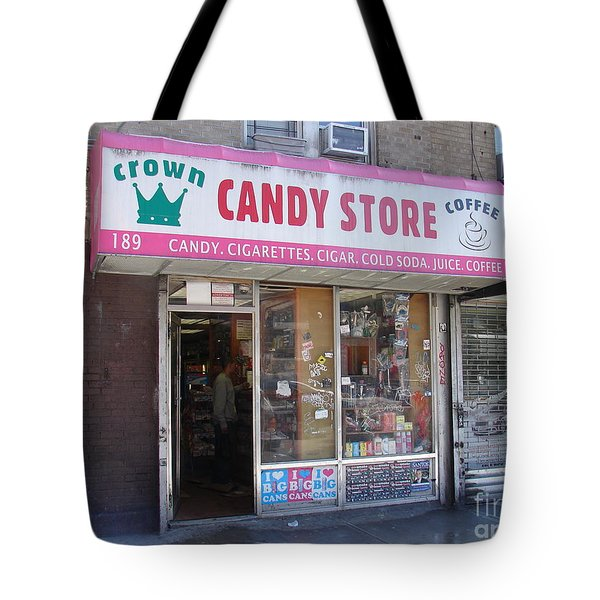 Crown Candy Store  Tote Bag by Cole Thompson