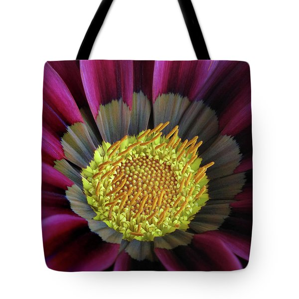 Tote Bag featuring the photograph Crown Of Pollen by David and Carol Kelly