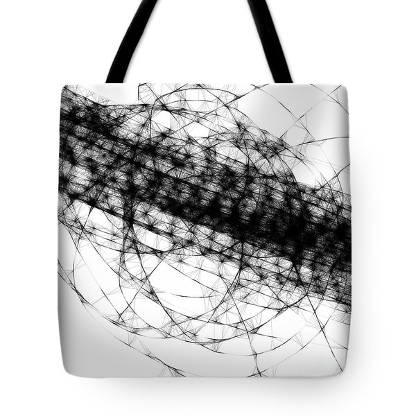 Crown Of Thorns Tote Bag by Steven Macanka
