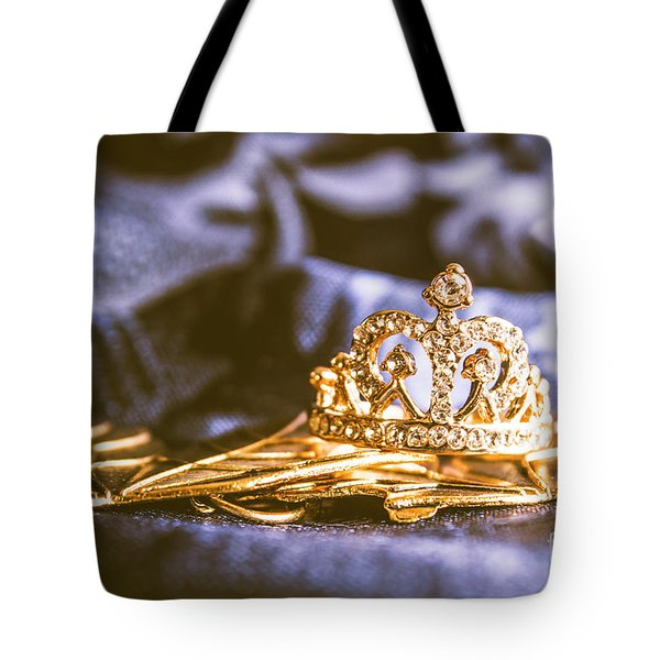 Crowned Tiara Jewellery Tote Bag