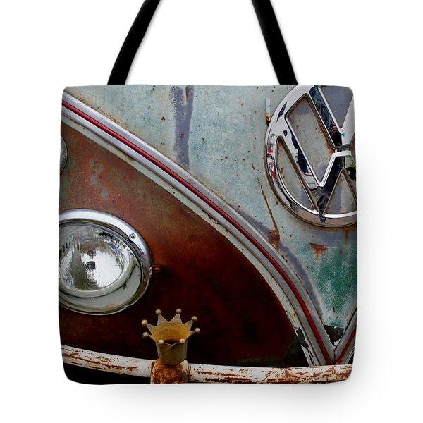 Crowned - Vw Tote Bag