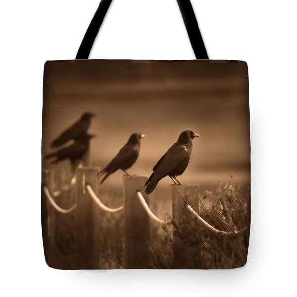 Crows Tote Bag