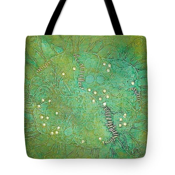 Cruciferous Flower Tote Bag by Bernard Goodman