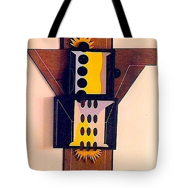 Crucifiction Tote Bag