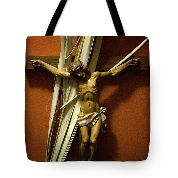 Crucifix Tote Bag