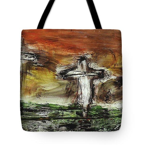 Crucifixion #2 Tote Bag