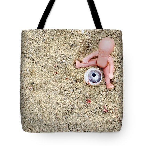 Cruel Games Tote Bag by Michal Boubin