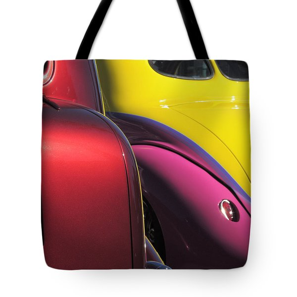 Cruise In Colors Tote Bag