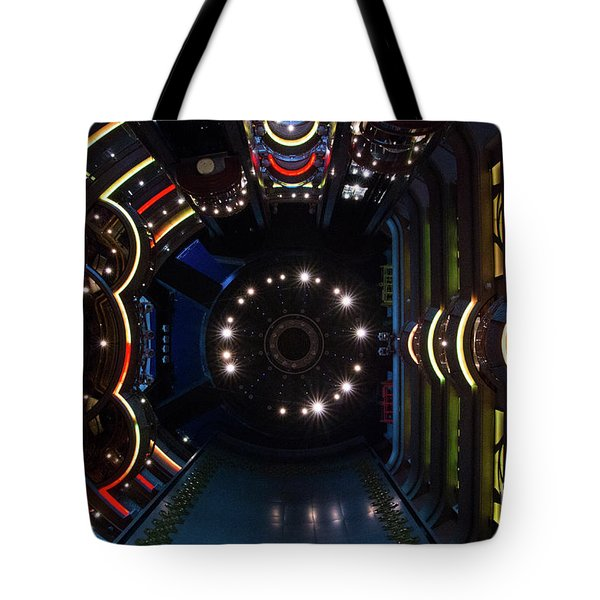 Cruise Ship Abstract Centrum Tote Bag