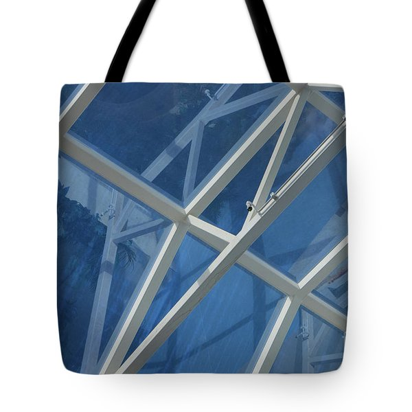 Cruise Ship Abstract Girders And Dome 2 Tote Bag