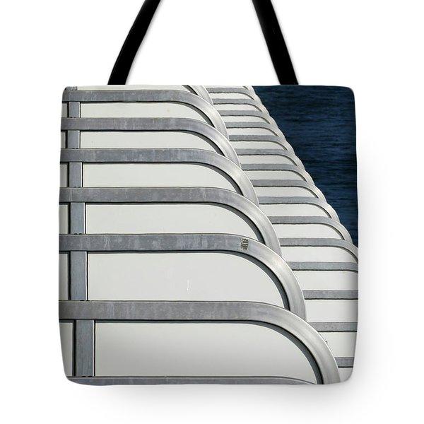 Cruise Ship's Balconies Tote Bag