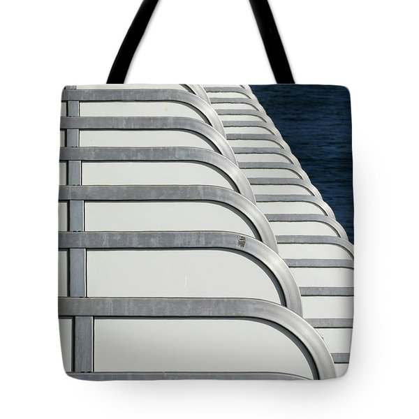 Cruise Ship's Balconies Tote Bag