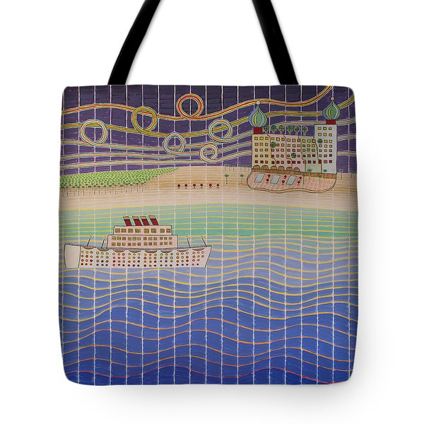 Cruise Vacation Destination Tote Bag