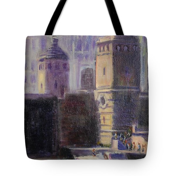 Cruising Chicago Tote Bag