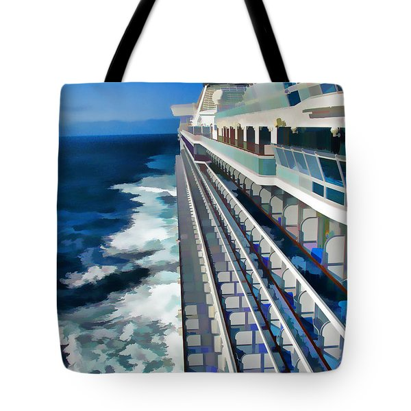 Tote Bag featuring the photograph Cruising by Dennis Cox WorldViews