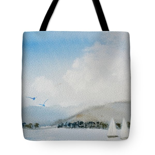 Cruising In Company Along The Tasmania Coast  Tote Bag