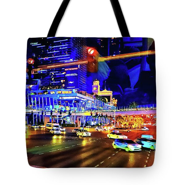 Cruising On The Strip Tote Bag