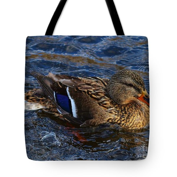 Cruising On The Thames Tote Bag