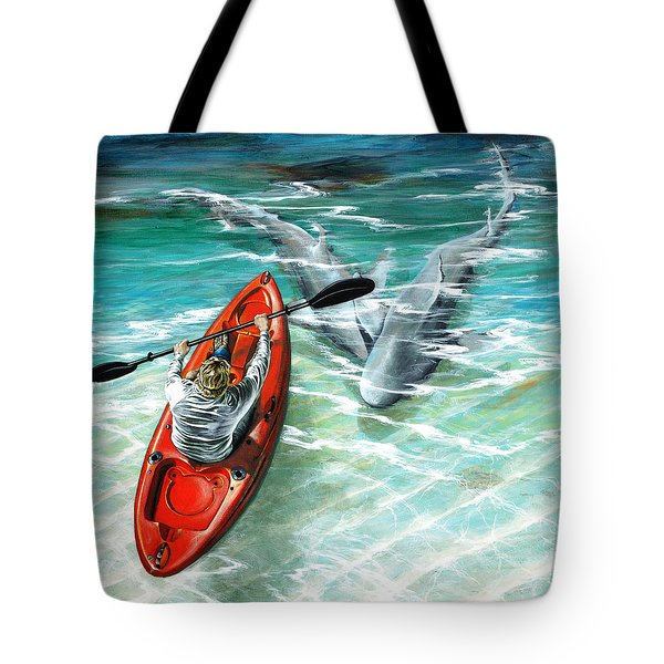 Cruising The Channel Tote Bag