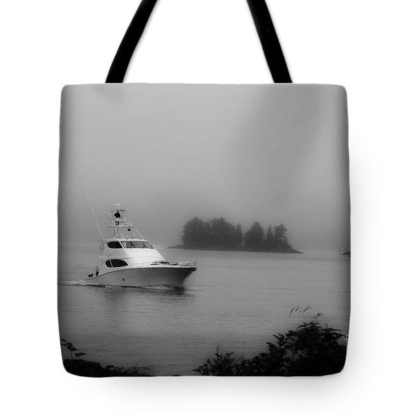 Cruising To Shore Tote Bag