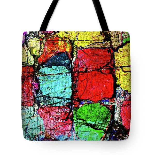 Crumbling Stone Wall Tote Bag by Don Gradner