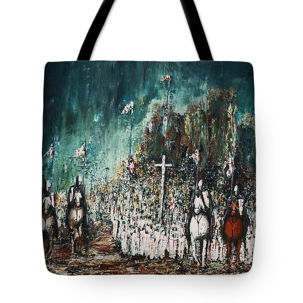 Marching Out Tote Bag
