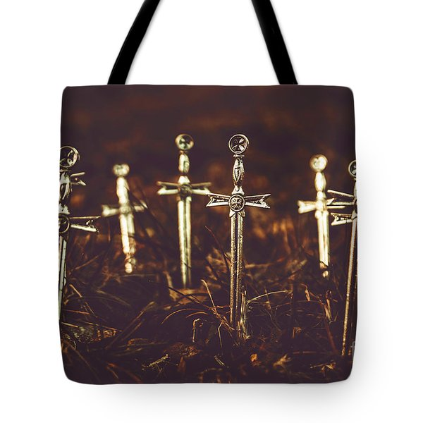 Crusaders Cemetery Tote Bag