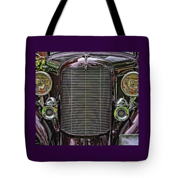 Crusin' With A 32 Desoto Tote Bag