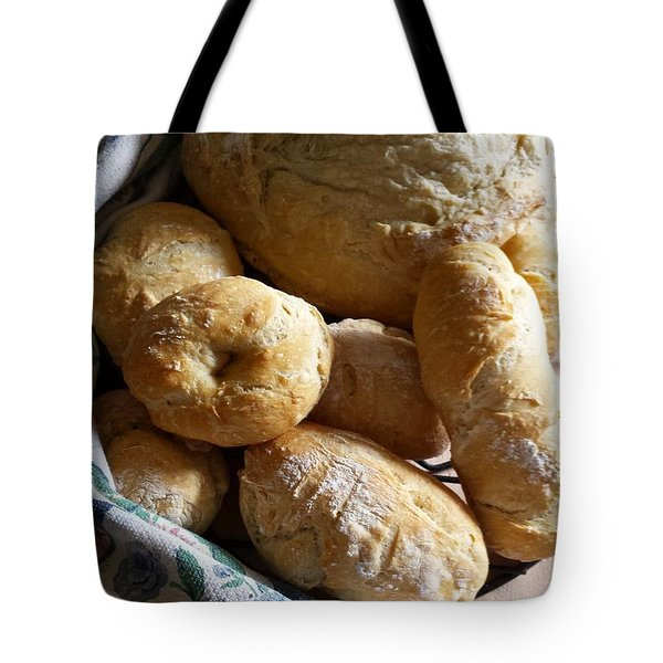 Crusty Artisan Breads Tote Bag