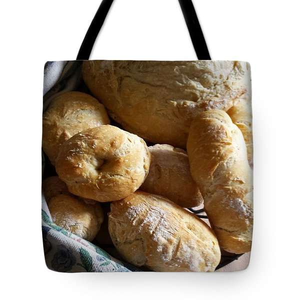 Crusty Artisan Breads Tote Bag