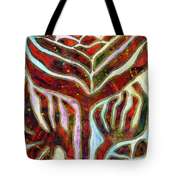 Cry Out Tote Bag by The Art Of JudiLynn
