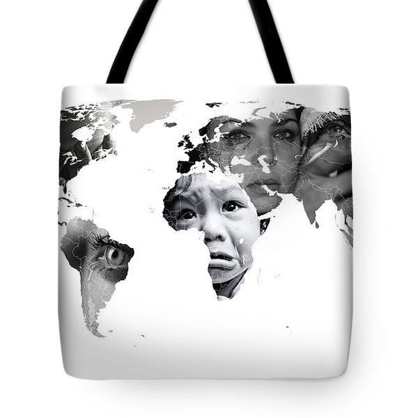 Crying Earth Tote Bag